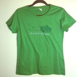 Anvil The Giving Tree Funny Shirt 🌳 NWOT